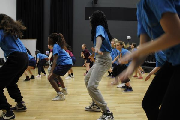 Workshop Streetdance Afdelingsuitje